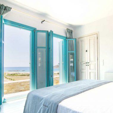 bedroom magganari villa ios island
