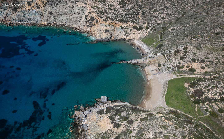 Diamoudia Beach Ios Island