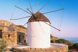 Wind Mills on Ios Island